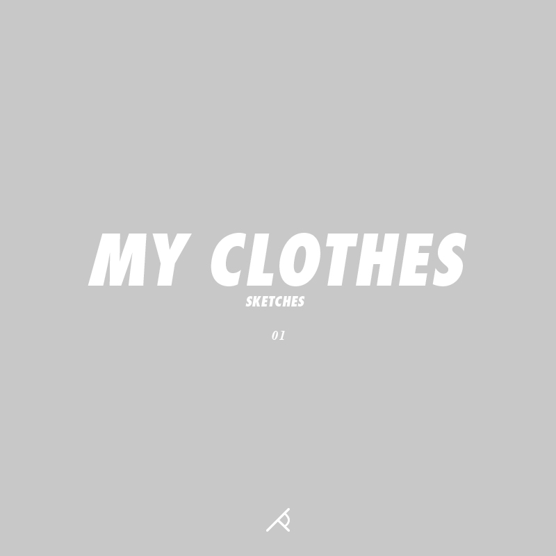 myclothes_sketches